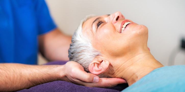 Chiropractor treats headaches and migraines for older woman
